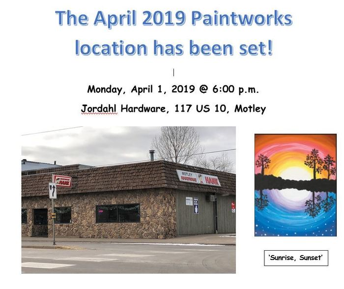 Paintworks April 2019!