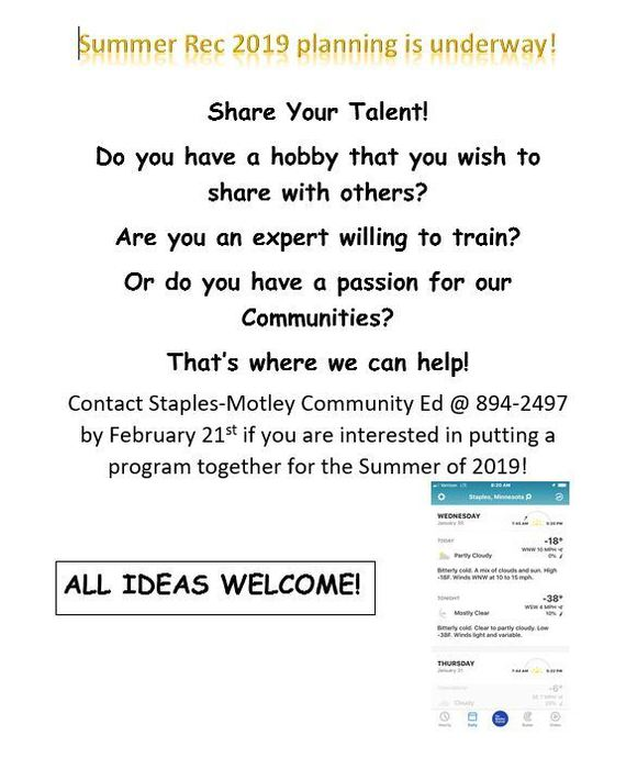 Share your talent or passion