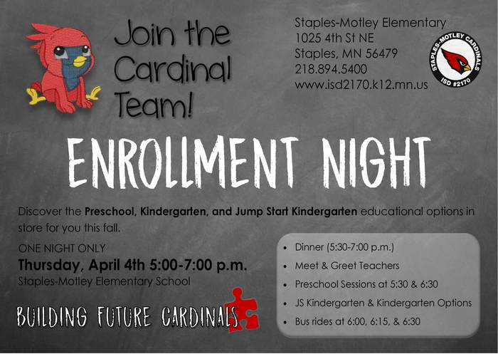Enrollment Night