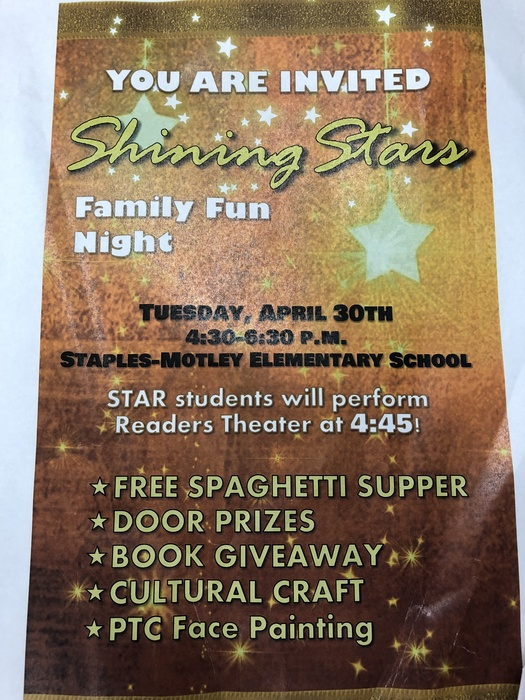 Shining STAR family fun night