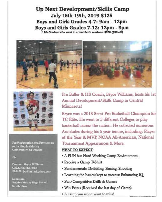 Up Next Basketball Camp
