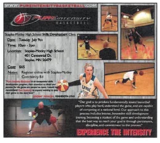 Pure Intensity Basketball Camp