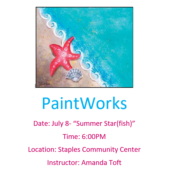 PaintWorks Summer Starfish