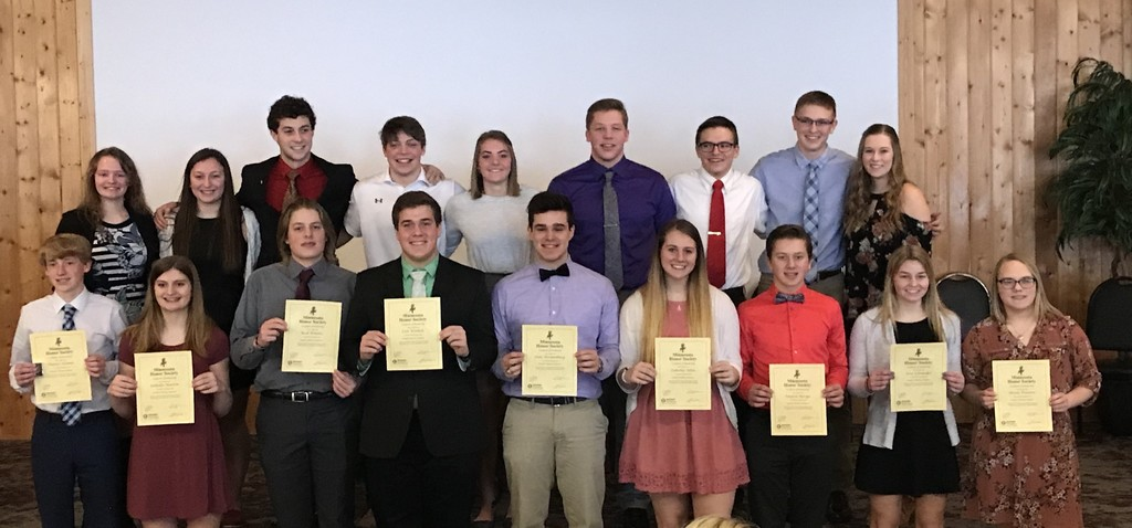 2020 Honor Society Inductees