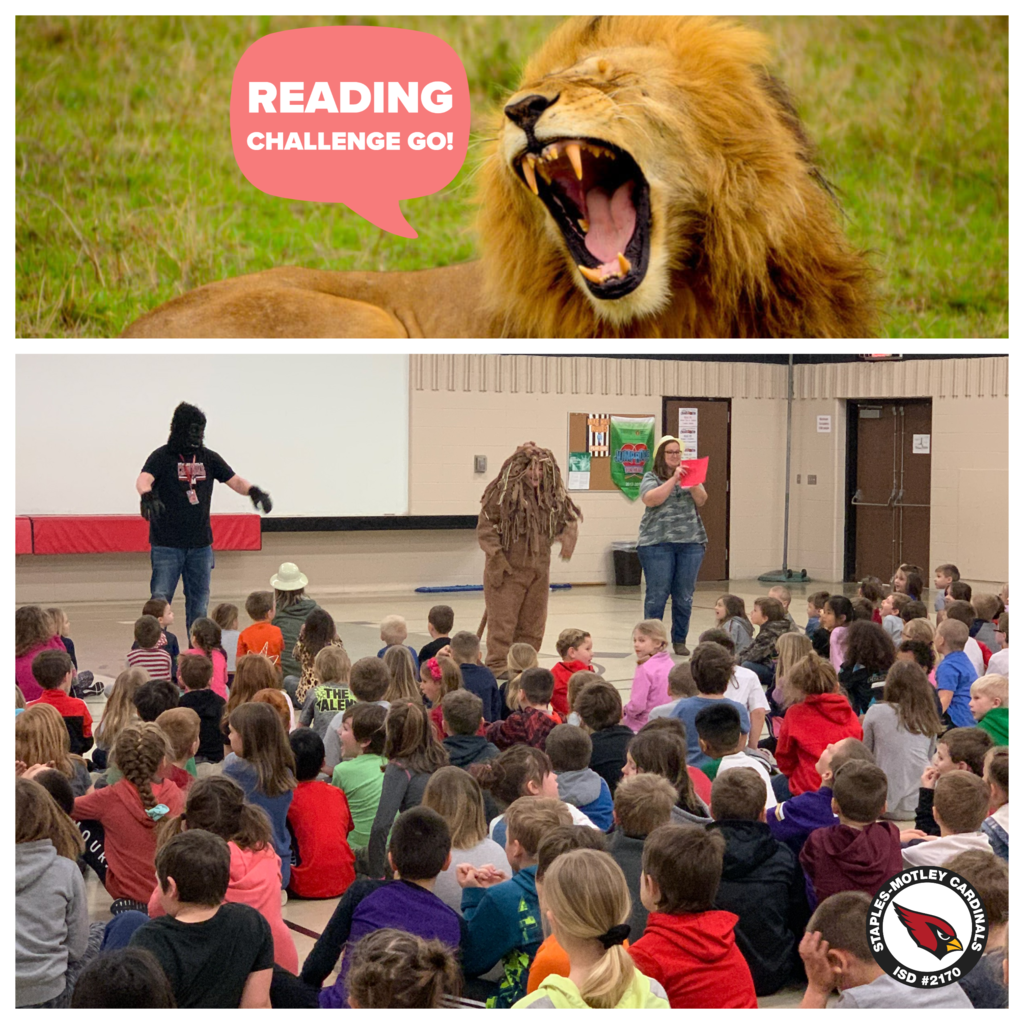 Mrs. Johnson is feeling WILD about reading!