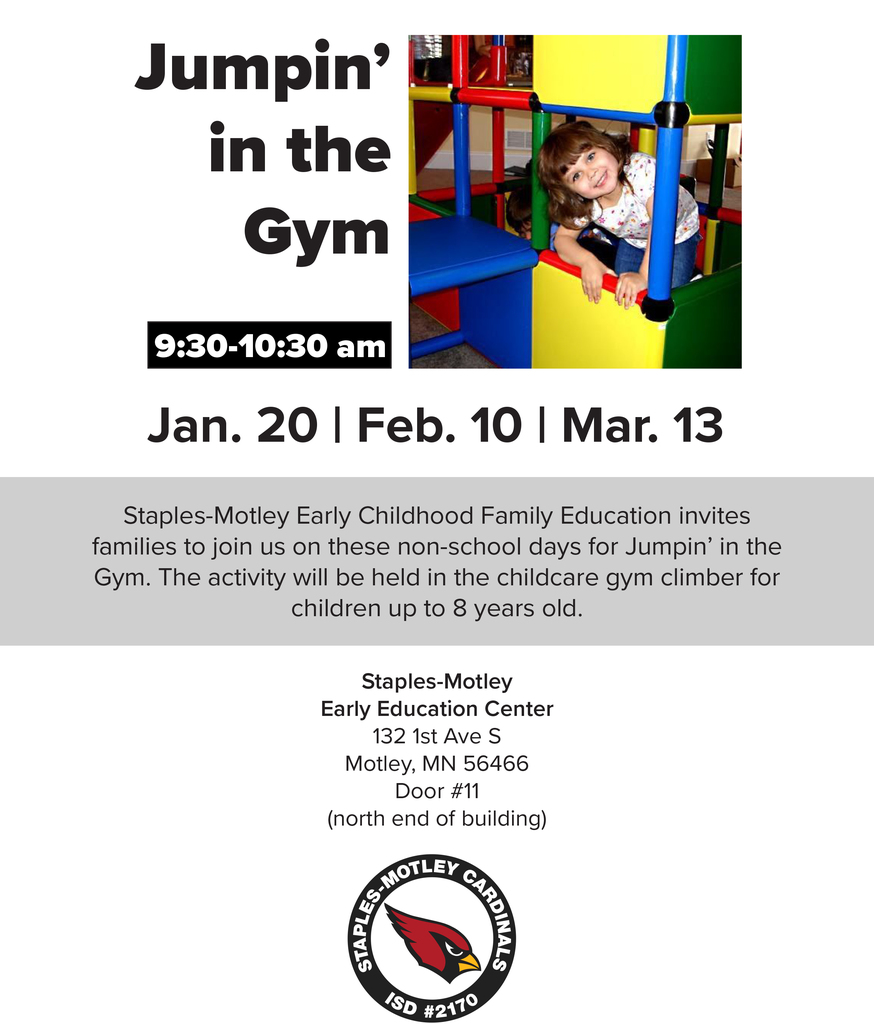 Jumpin' in the Gym this Friday!