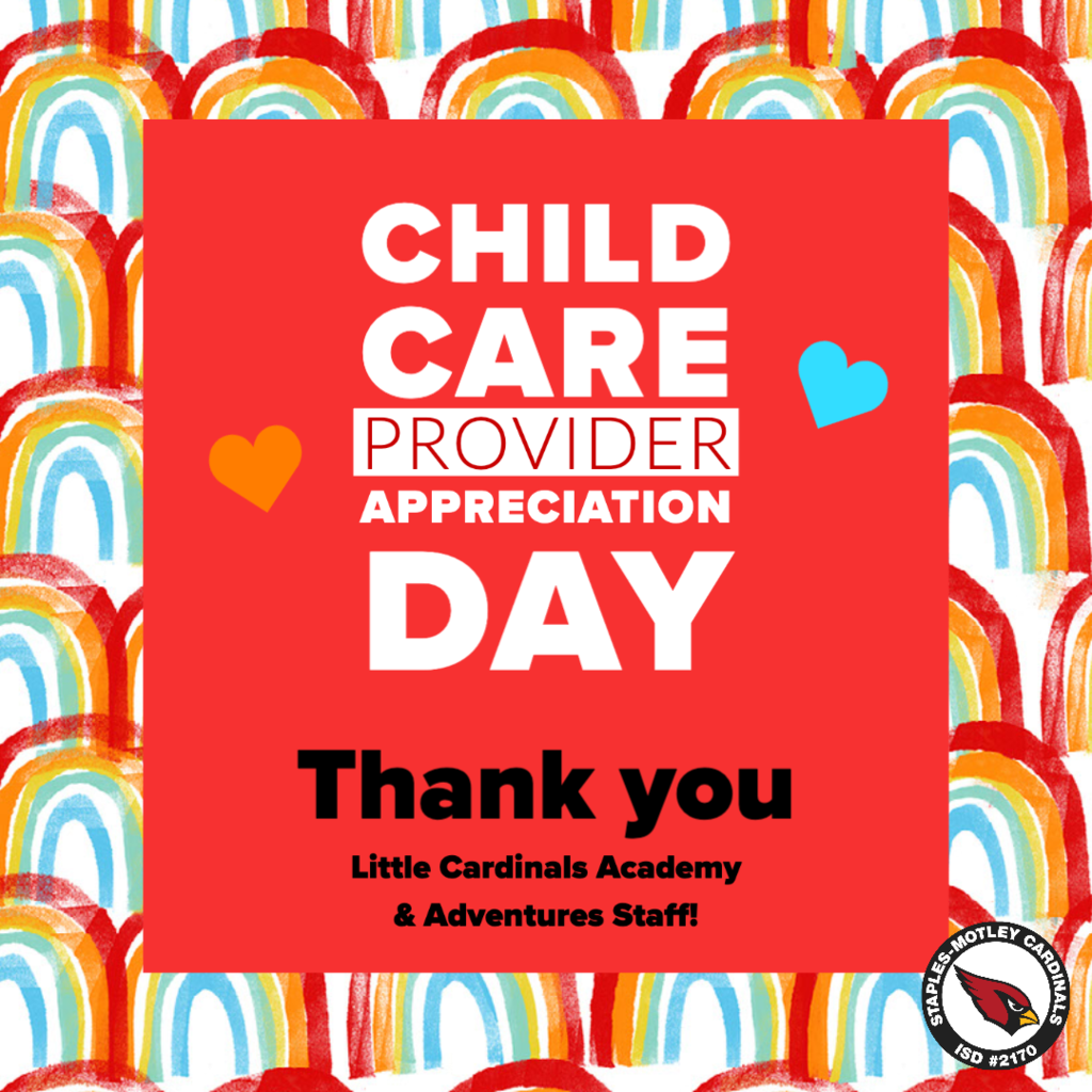 Child Care Provider Appreciation Day!